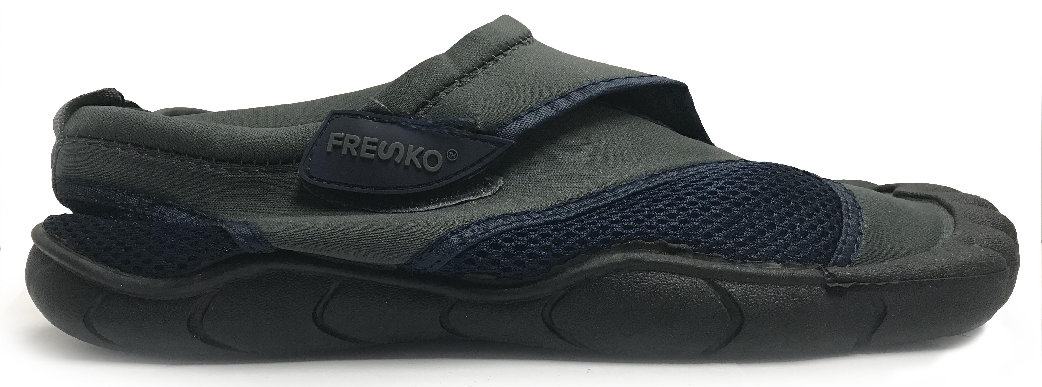 ebe0e90680c Fresko Men's Slip on Aqua Water Shoes with Toes | eBay