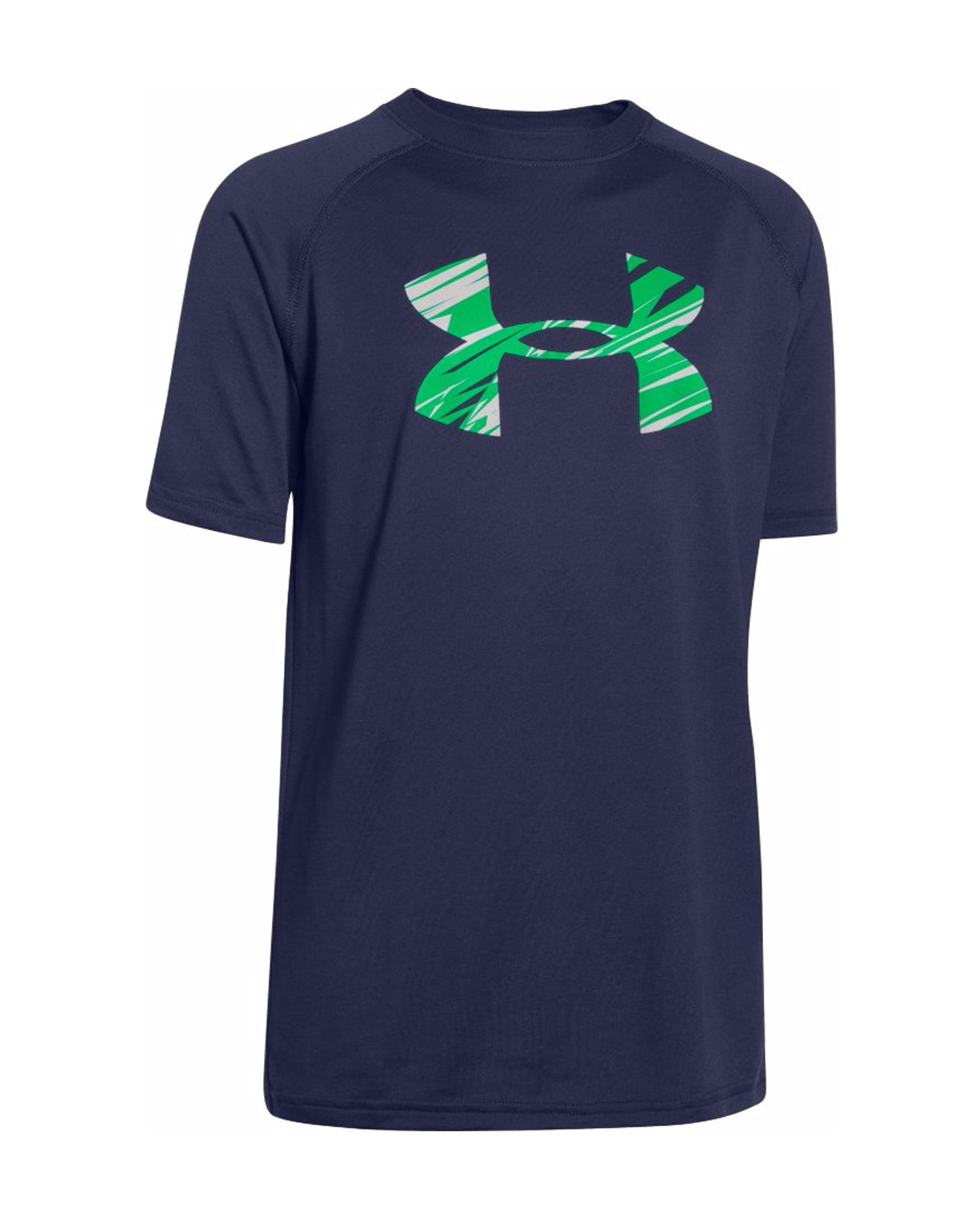 Under armour 1228803 boys ua big logo t shirt tee youth for Under armour swim shirt youth