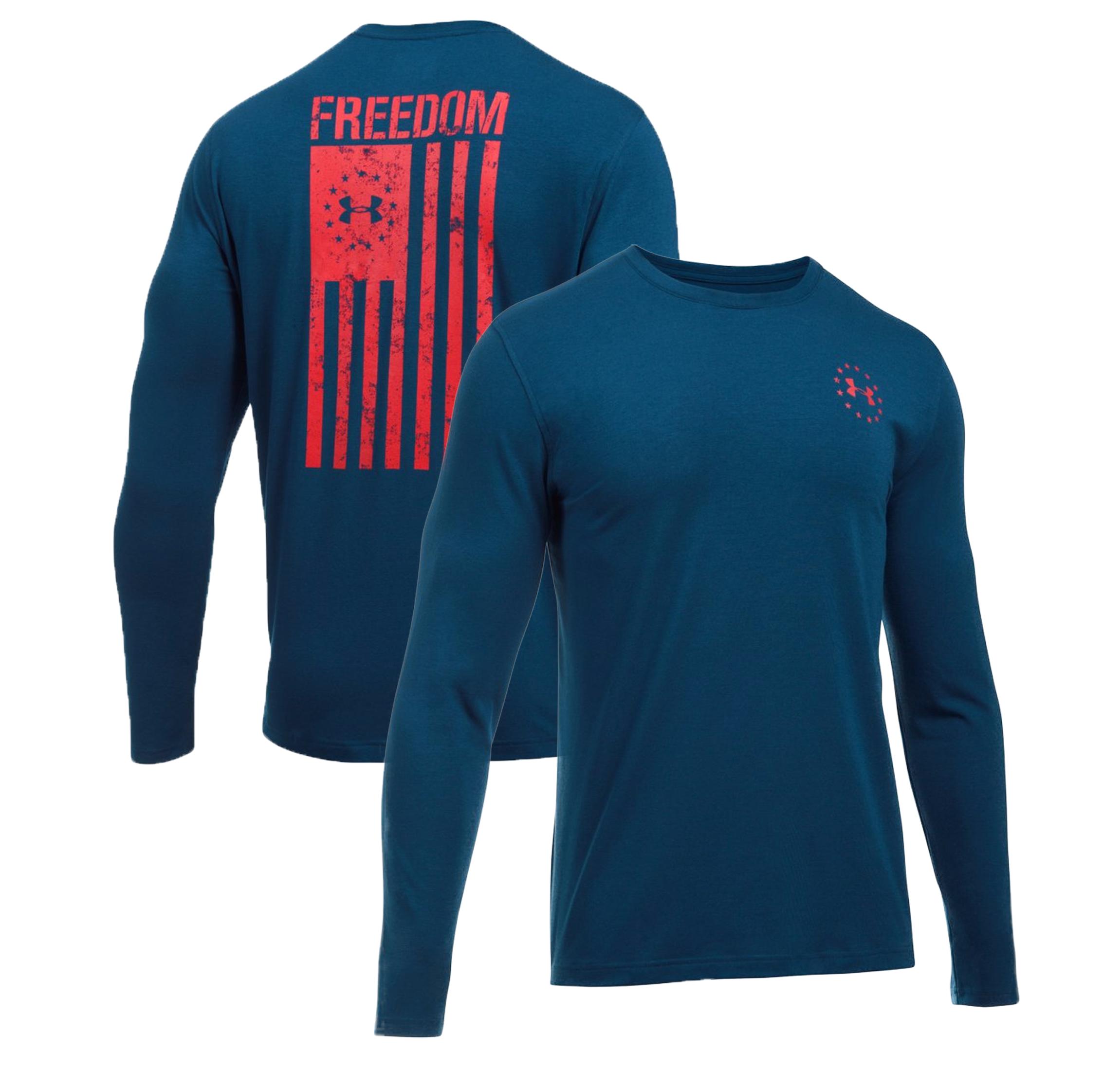 Under Armour Boy/'s Freedom Flag Short Sleeve Tee NWT 2018
