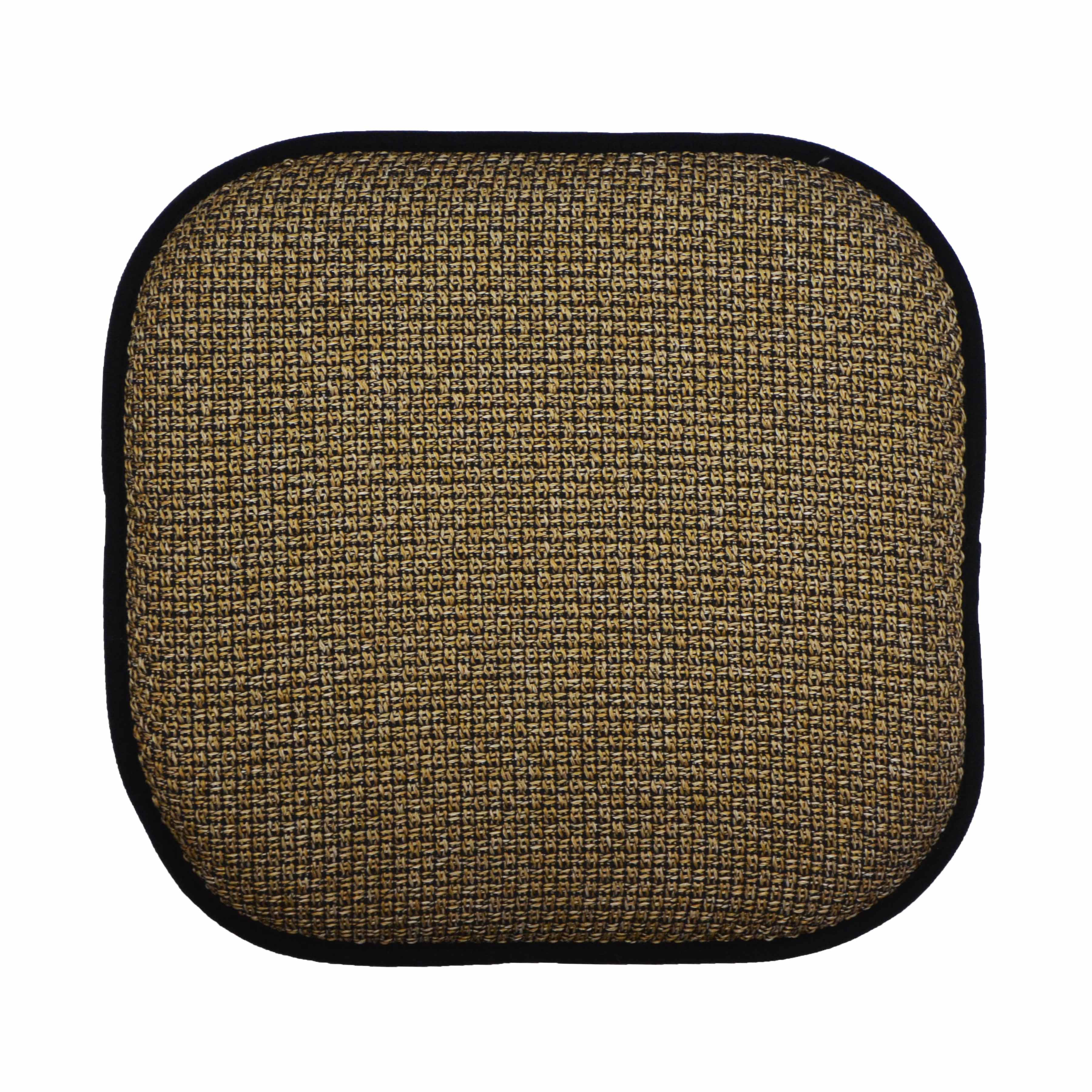 Memory Foam Chair Pad Seat Cushion with Non Slip Backing 16x16