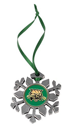 Ohio Bobcats Snowflake Ornament