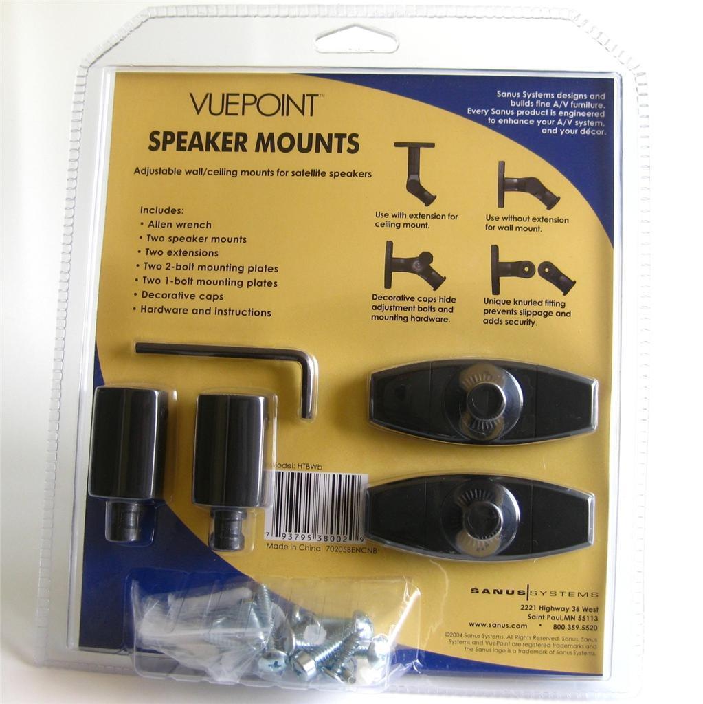 Sanus Vuepoint Wall Mount Instructions