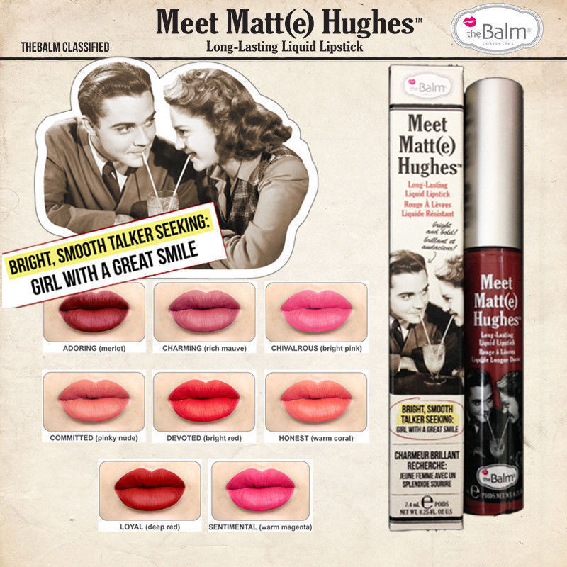 the balm meet matte hughes sentimental value