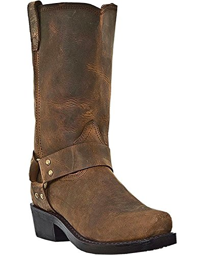 """Dingo Men/'s 11/"""" Imported Leather Dean Western Boot with Durable Rubber Sole"""