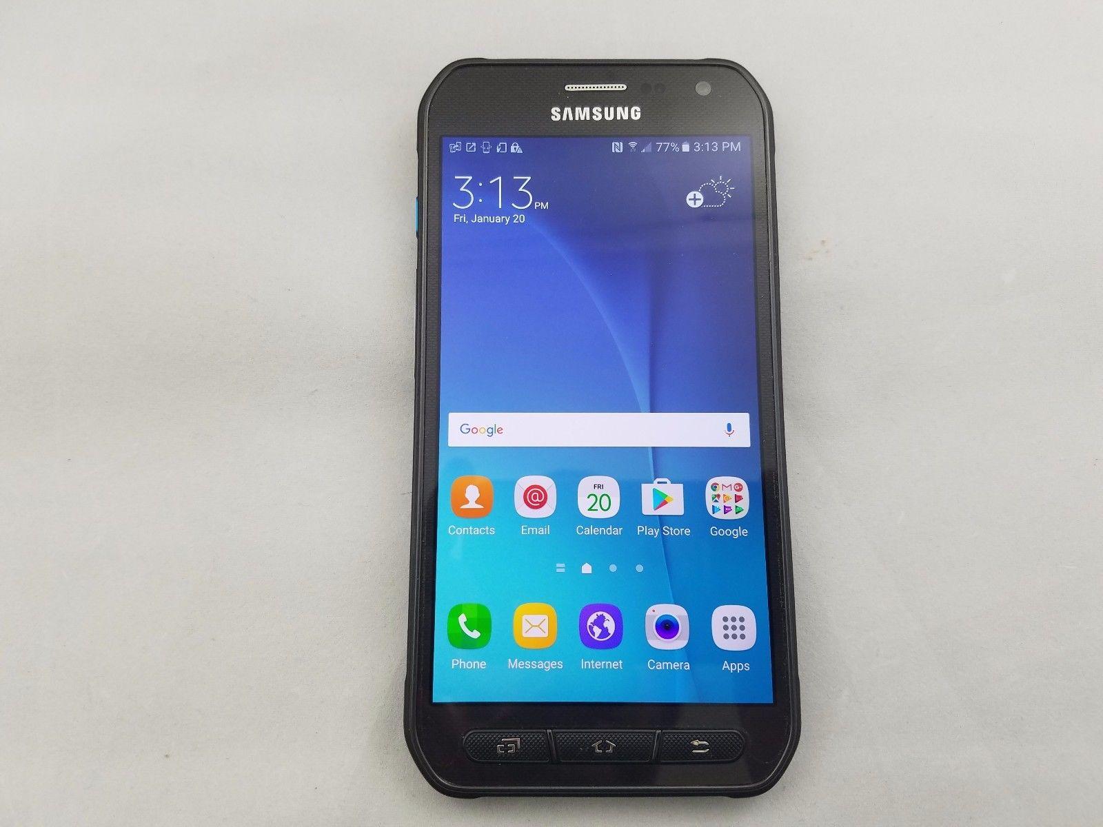 samsung galaxy s6 active g890a 32gb lte smartphone at t cricket no contract ebay. Black Bedroom Furniture Sets. Home Design Ideas