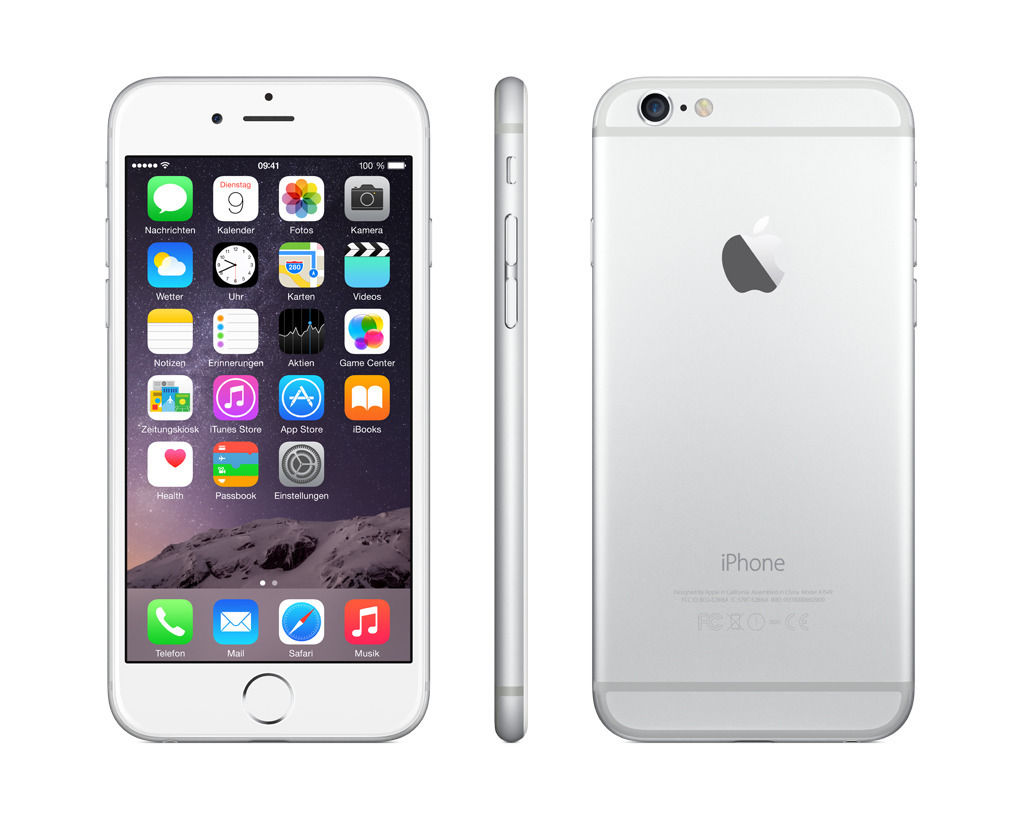 apple iphone 6 16gb unlocked gsm ios smartphone black silver gold ebay. Black Bedroom Furniture Sets. Home Design Ideas