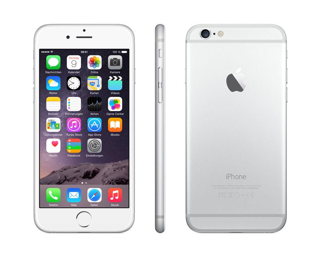 Apple Iphone   Gb Silver Unlocked Gsm
