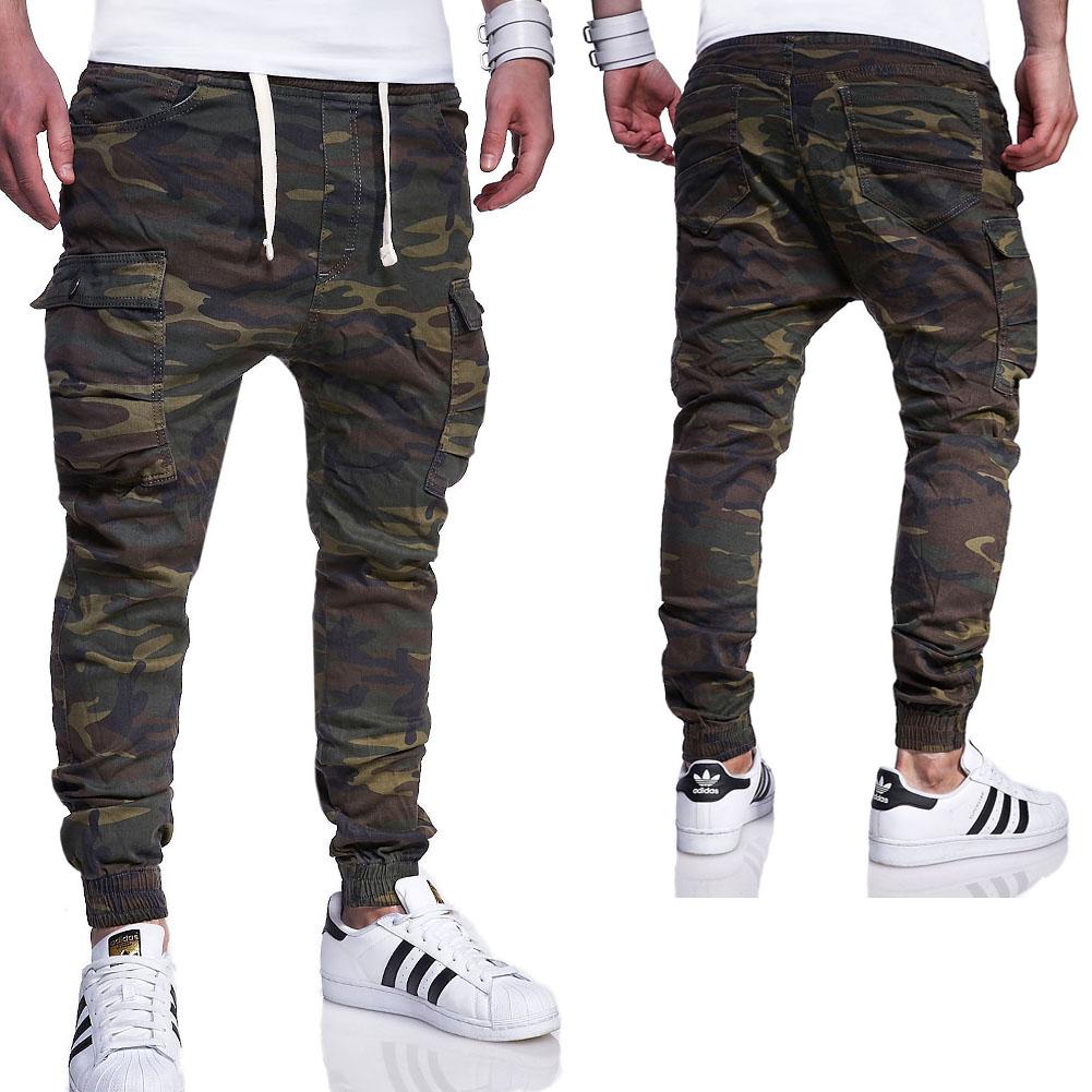 behype men 39 s jogger pants with cargo pockets rj 3188 ebay. Black Bedroom Furniture Sets. Home Design Ideas