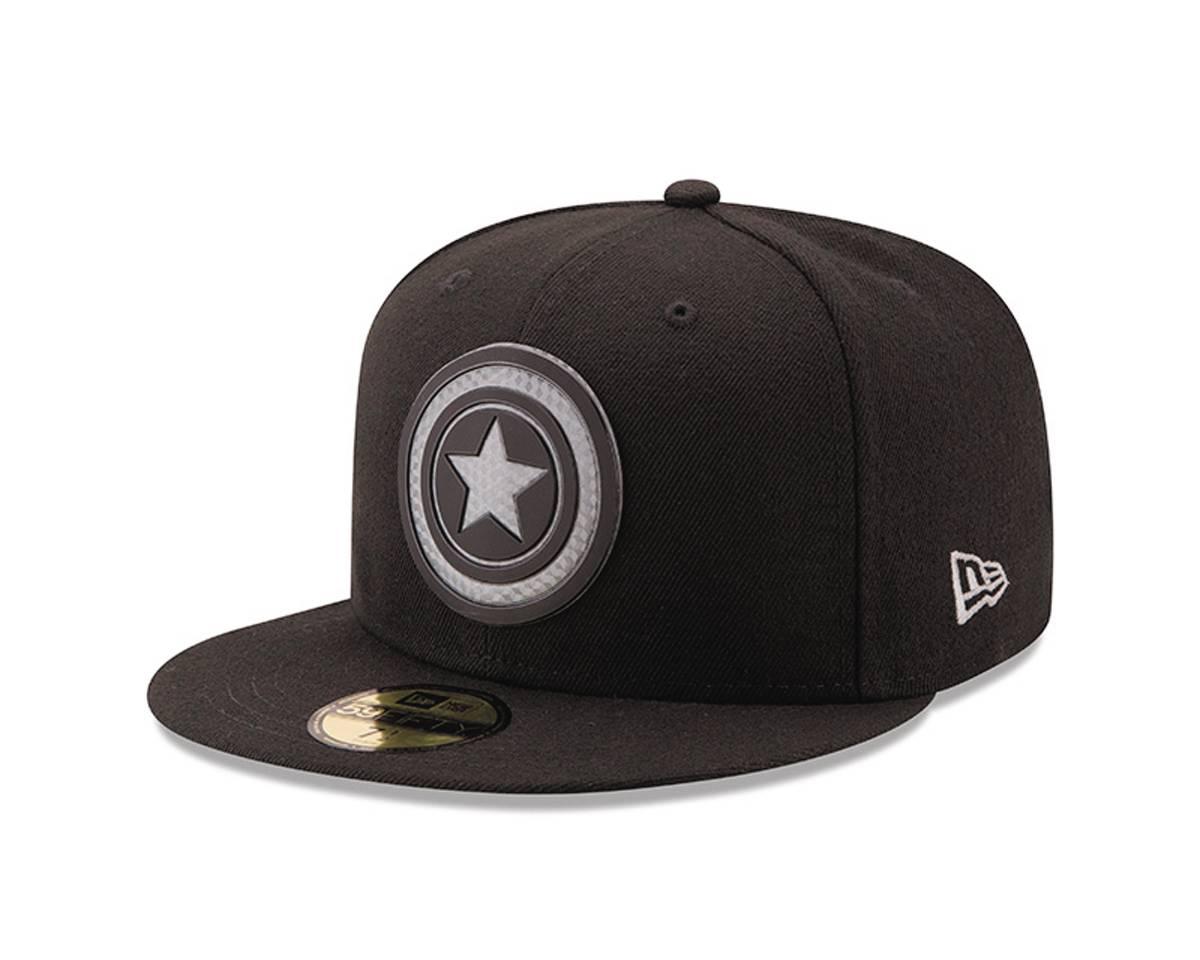 f47e42d06f2 Marvel Captain America Shield Hexshine 5950 Ed Baseball Cap