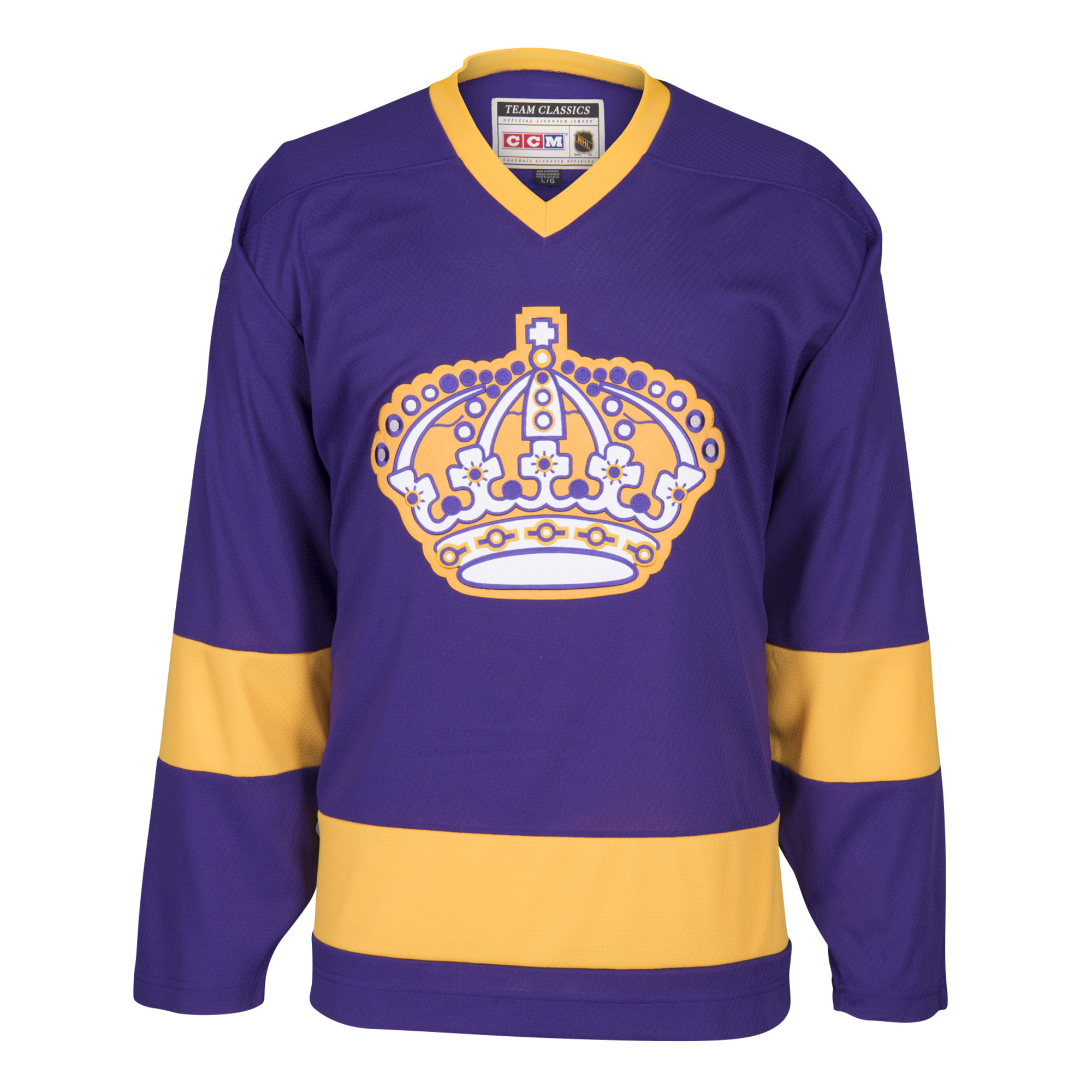 size 40 52299 41adf los angeles kings purple jersey