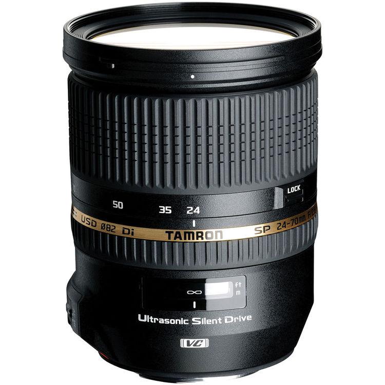 Tamron SP 24-70mm F/2.8 Di VC USD Lens for Canon Digital SLR Camera - NEW!