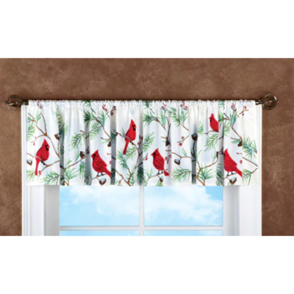 Winter Cardinals Christmas Bathroom Collection Shower Curtain Rug Towels More Ebay