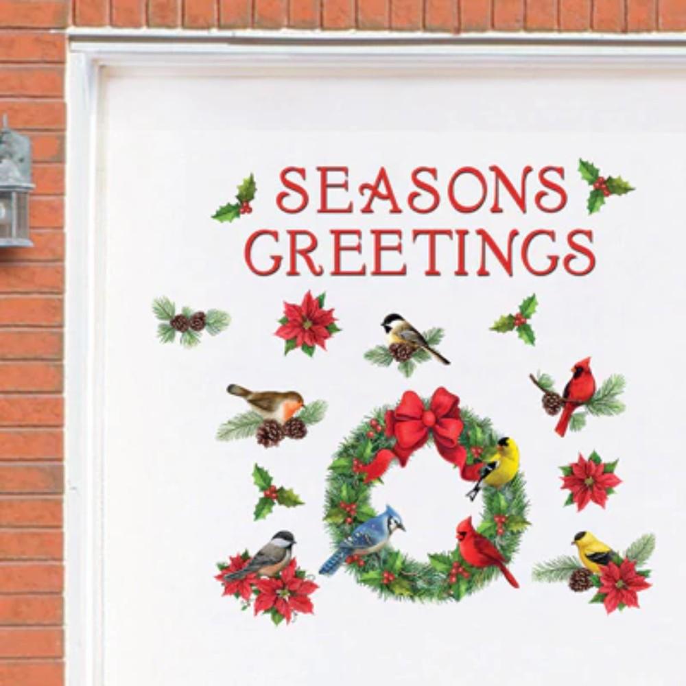 Jumbo holiday garage magnets christmas greetings colorful and jumbo holiday garage magnets christmas greetings colorful and kristyandbryce Images
