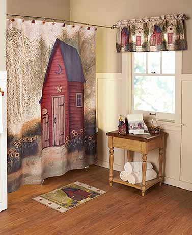 Outhouse-Bathroom-Collection-Primitive-Home-Rustic-Artwork-Pam-