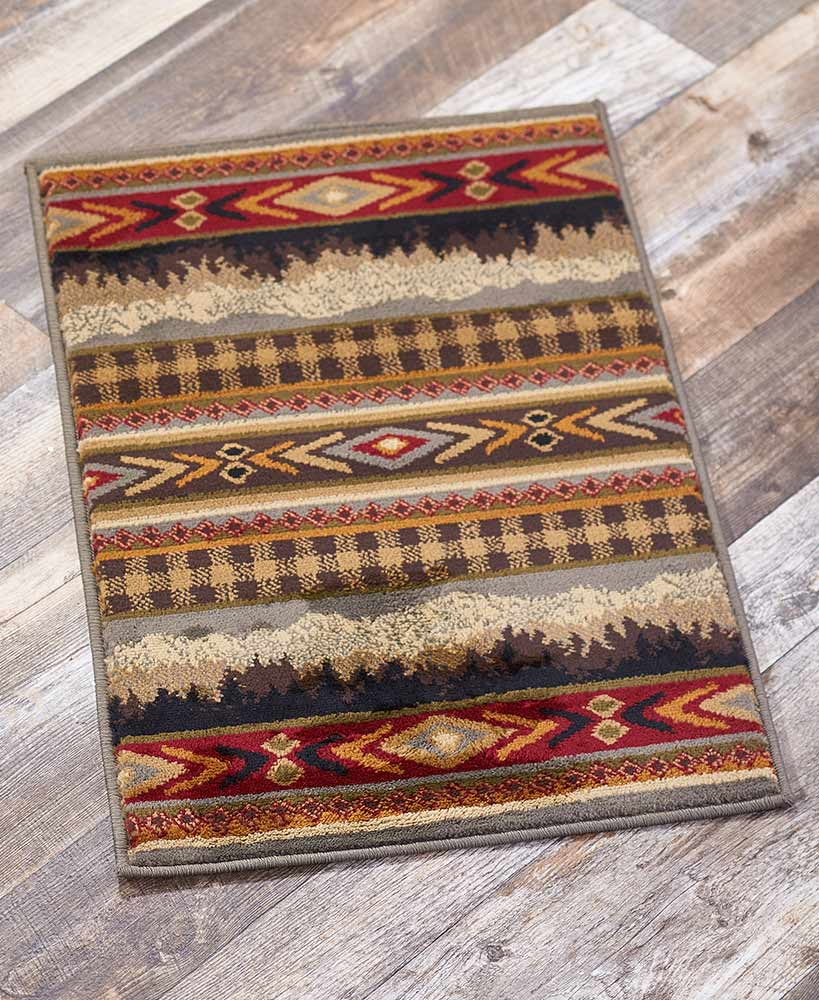 Lodge Rug Collections Olefin And Jute Back Accent Rug