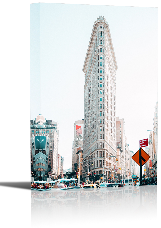 Flatiron Building New York City Art Print Wall
