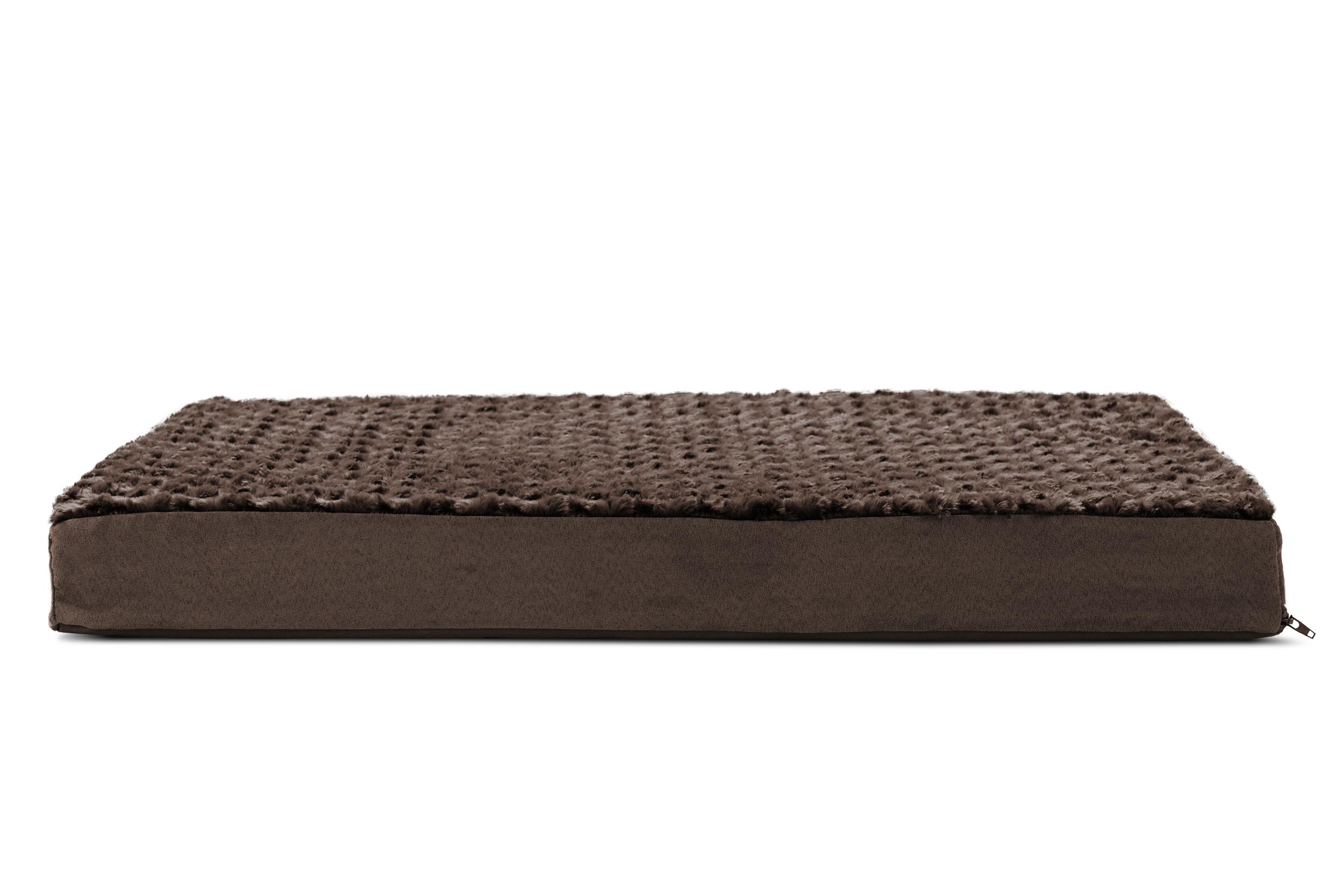 Orthopedic Dog Or Cat Pet Bed Crate Pad Mat Plush