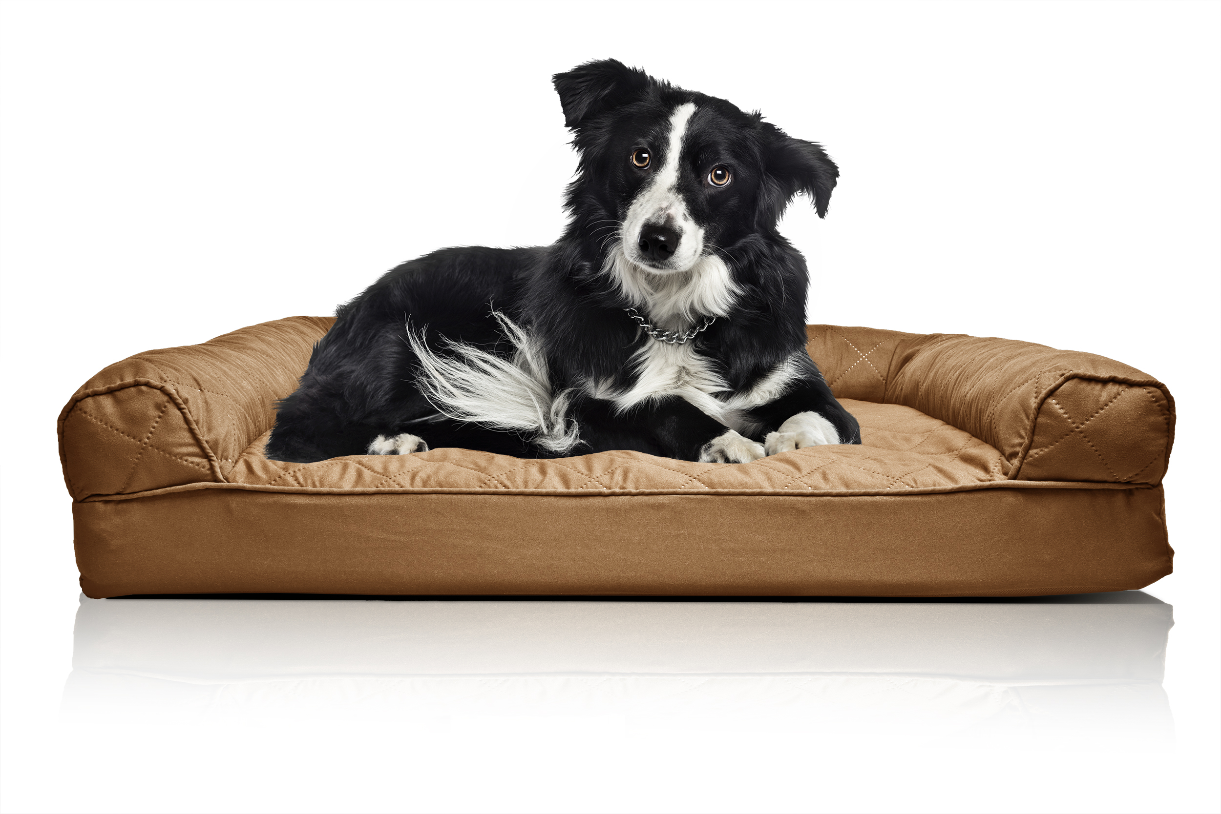Furhaven Quilted Orthopedic Sofa Dog Bed Pet Bed Ebay