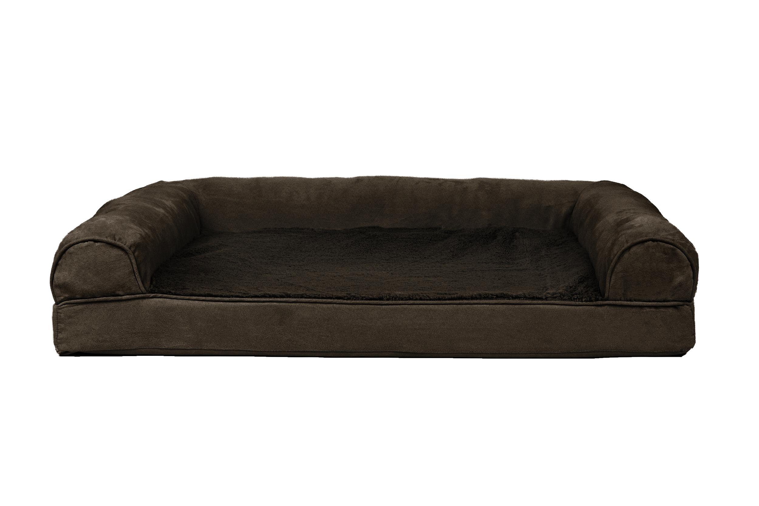 FurHaven Plush Amp Suede Orthopedic Sofa Dog Bed