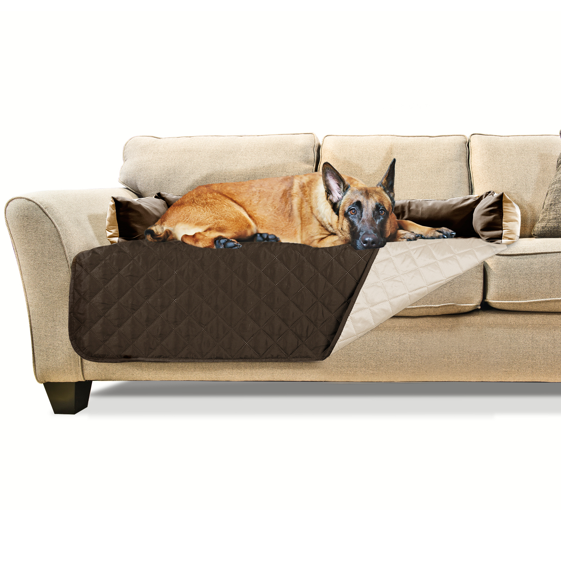 furhaven sofa buddy dog bed pet bed furniture cover ebay. Black Bedroom Furniture Sets. Home Design Ideas