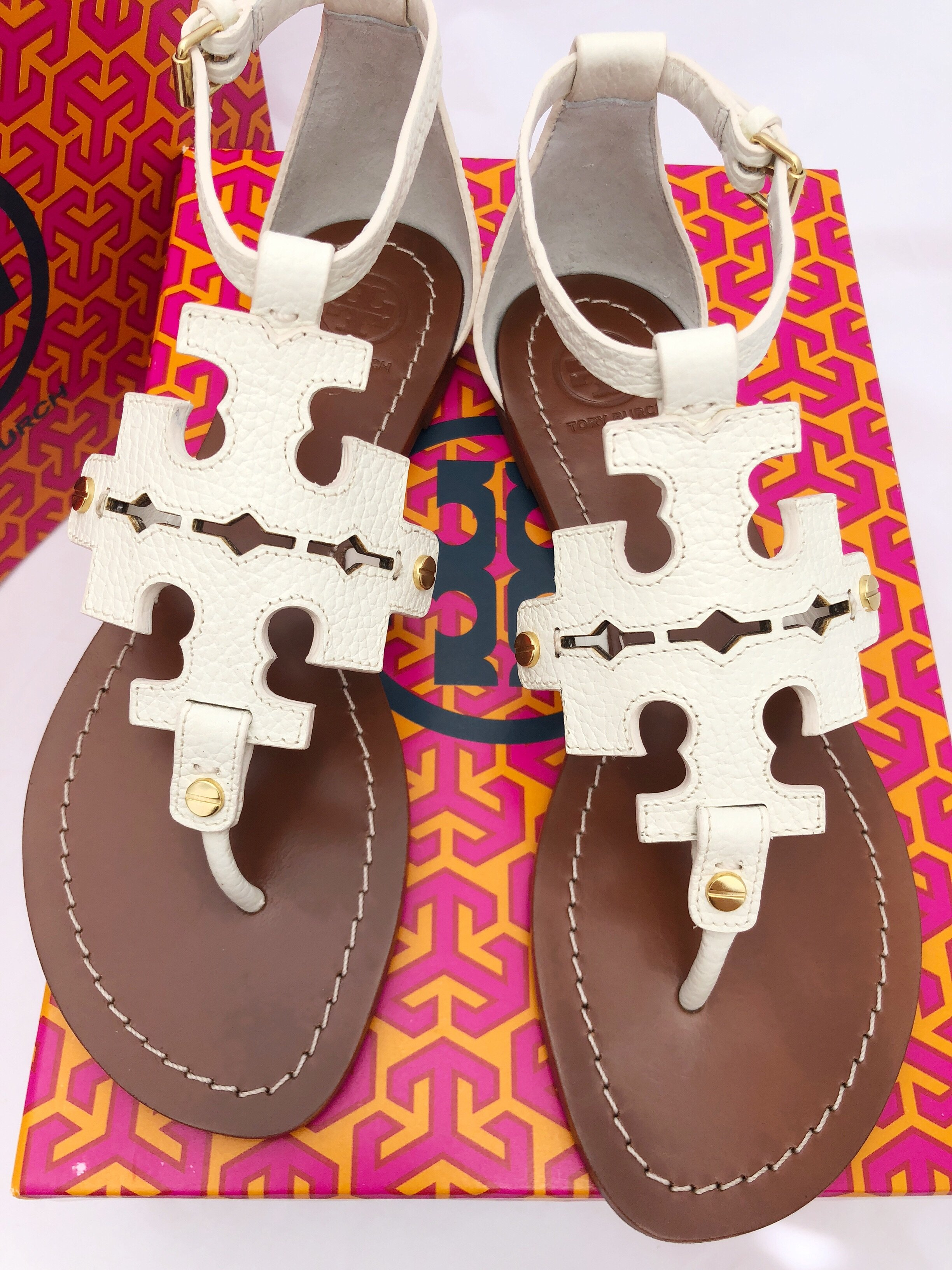 d0808ffdeedf ... official store tory burch phoebe flat thong sandals ivory white 59272  52240