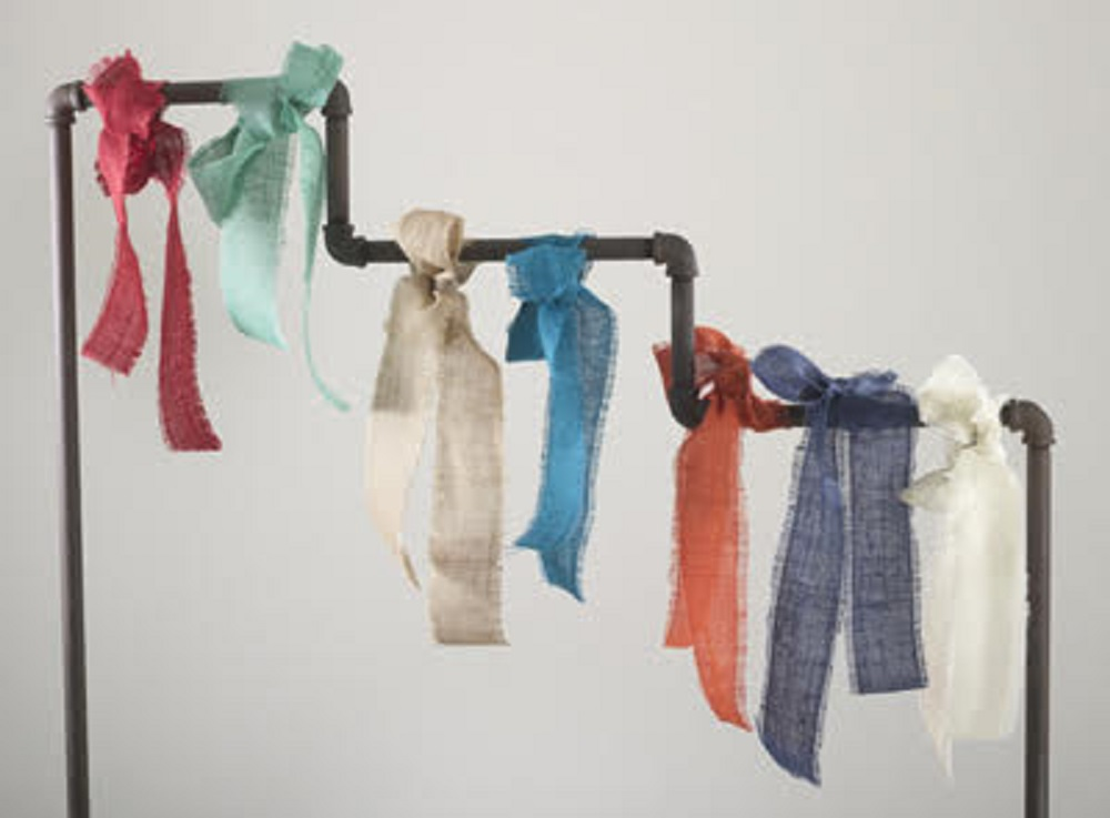 Assorted Colors//Sizes Saro Lifestyle Collection Burlap Rolls,