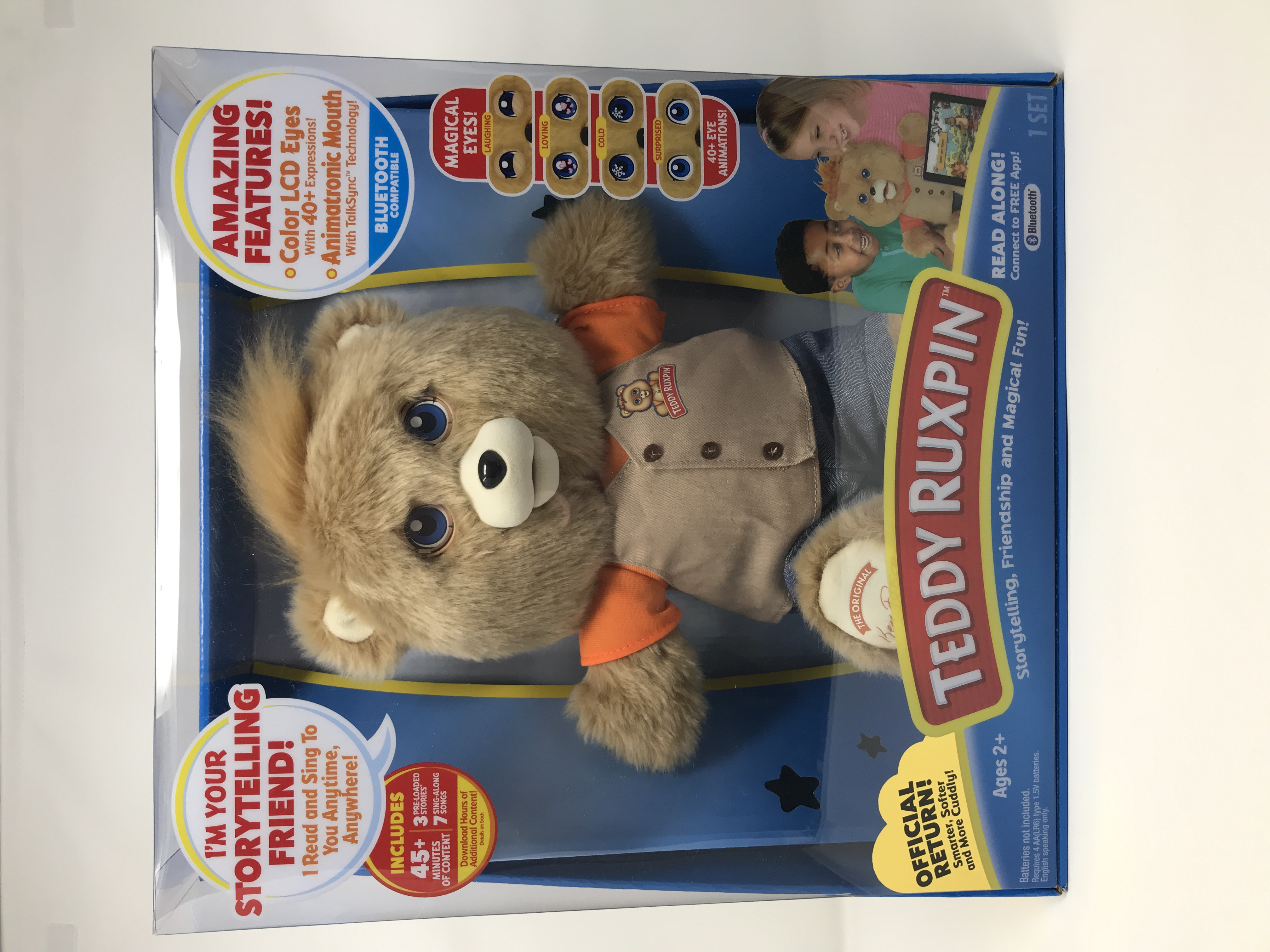 NEW 2017 Teddy Ruxpin Official Return Of The Storytime Magical Bear Christmas