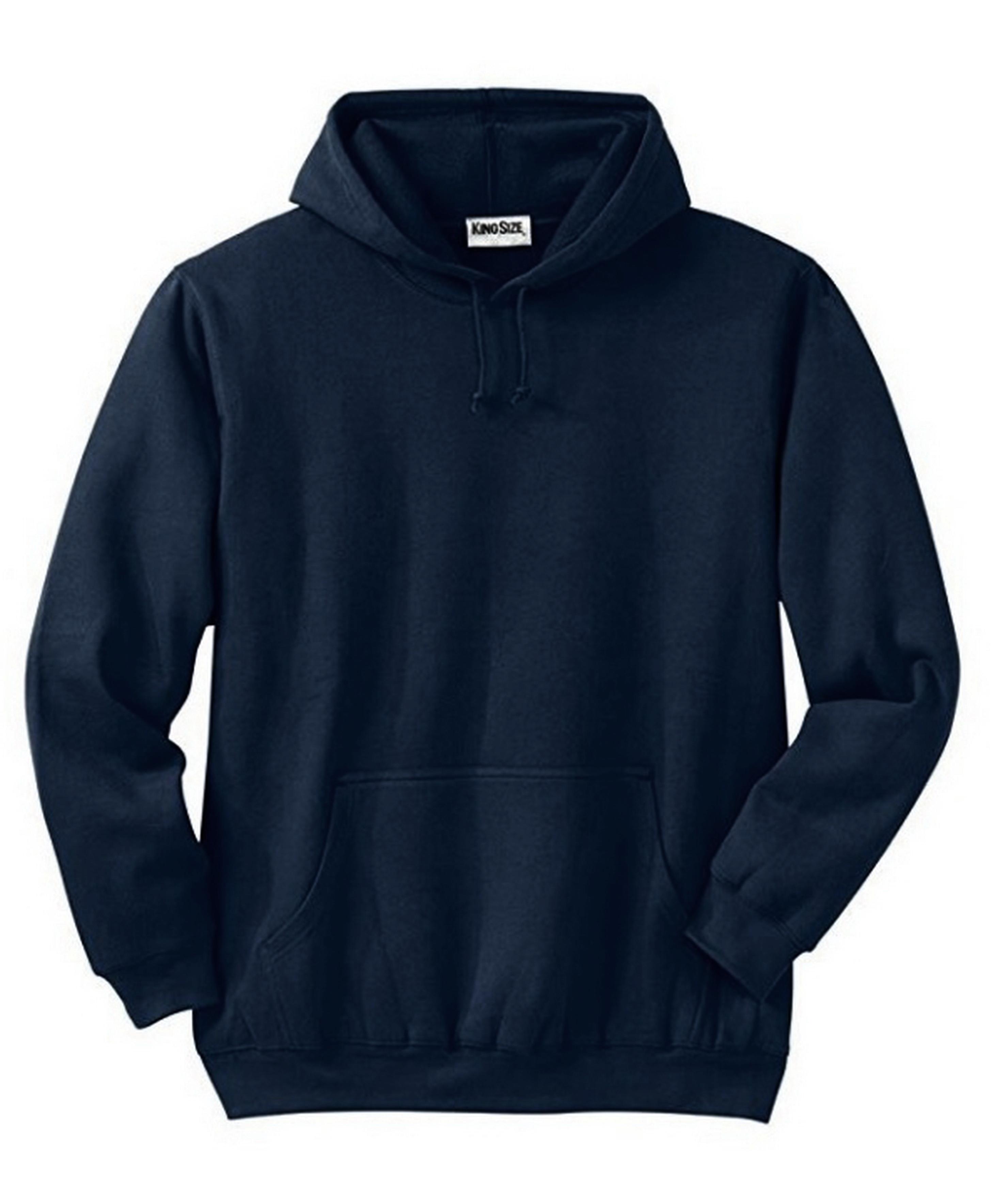 KS SPORT KINGSIZE Mens Fleece Pullover Hoodie Big /& Tall Size 280763RM