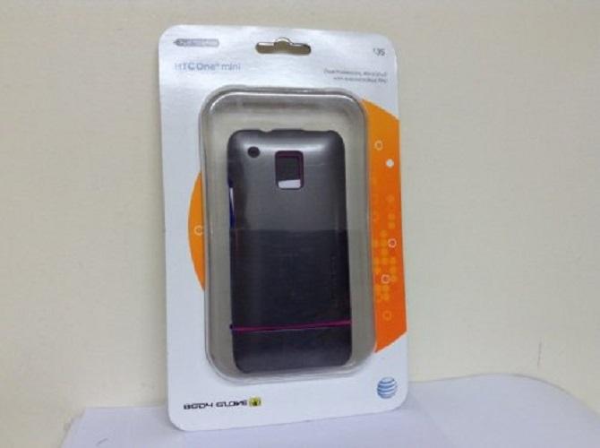 Body Glove Silver Icon Hybrid 2 gel/shell pack - HTC One mini