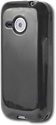 Black Silicone Skin Case HTC 6200 Droid Eris