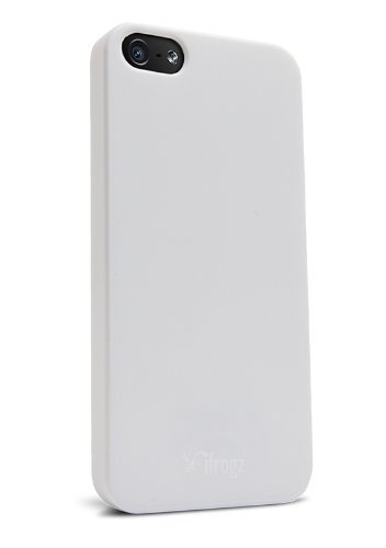iFrogz Ultra Lean Case for iPhone 5 - Retail Packaging - White
