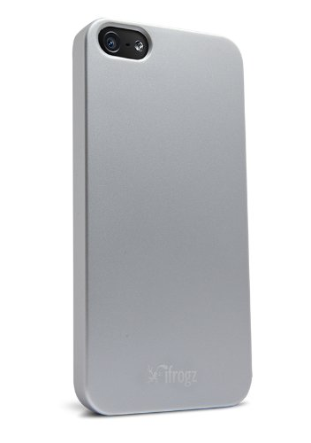 iFrogz Ultra Lean Case for iPhone 5 - Retail Packaging - Silver