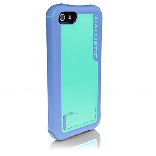 Ballistic EV0993-M095 Every1 Case for iPhone 5 - 1 Pack - Retail Packaging - Violet/Light Blue