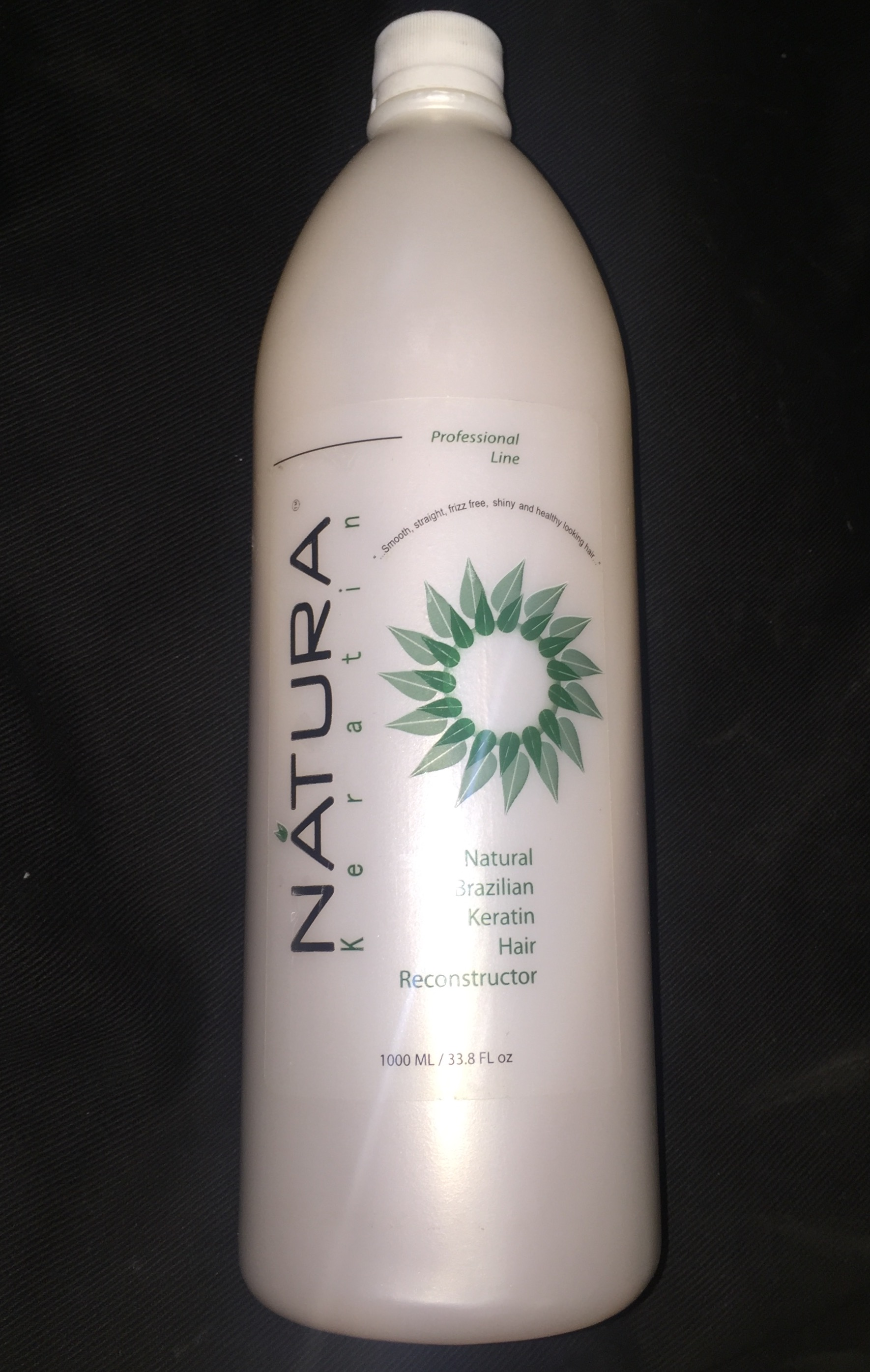 Natura Keratin Natural Brazilian Keratin Hair Reconstructor 33.8 oz