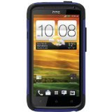 OtterBox Commuter Series for HTC One X - Retail Packaging - Black/Blue