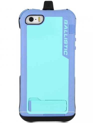 AGF iPhone 5 Ballistic Every1 Case & Holster Violet & Blue