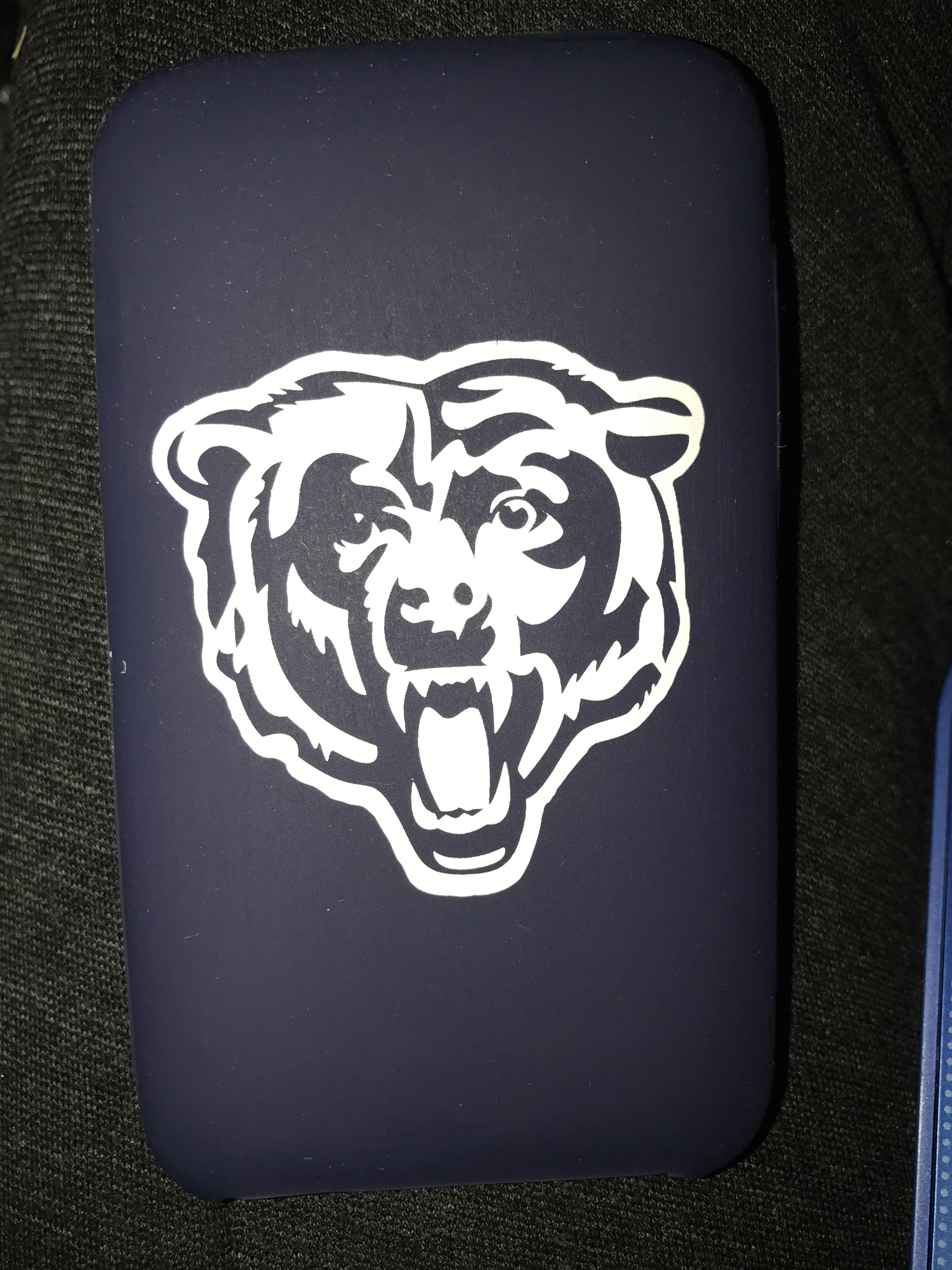 Tribeca Spirit Collection Varsity Jacket Silicone Skin iPod touch - Chicago Bears