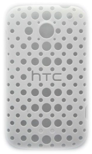 HTC Hard Shell Case for HTC Desire C - White