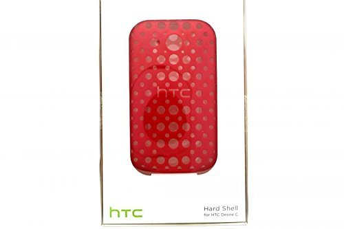 HTC Hard Shell Case for HTC Desire C - Red - 99H10971-00