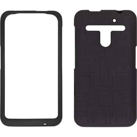 Wireless Solutions Maze Soft Touch Snap-On Case For Lg Revolution Vs910 - Black