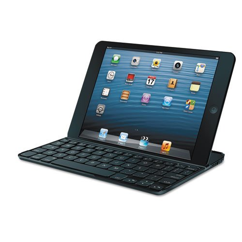 Logitech Keyboard/Cover Combination for iPad Mini, Black