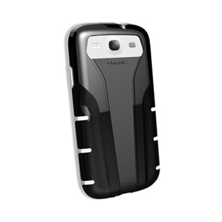 Qmadix Protective Skin for Xpression Samsung Galaxy SIII - Black/White
