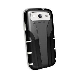 Qmadix Protective Skin for Xpression Samsung Galaxy SIII - Black/White
