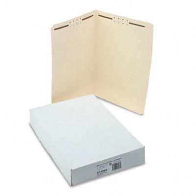 S J Paper S11560 S J Paper Watr/Ppr Cut-Resist Fldrs W/2 Fstnrs, Strt Ct, Top Tb, Lgl, MLA, 50/Bx