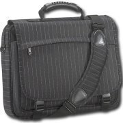 InitTM - Pinstripe Messenger Laptop Sleeve nt-nb985