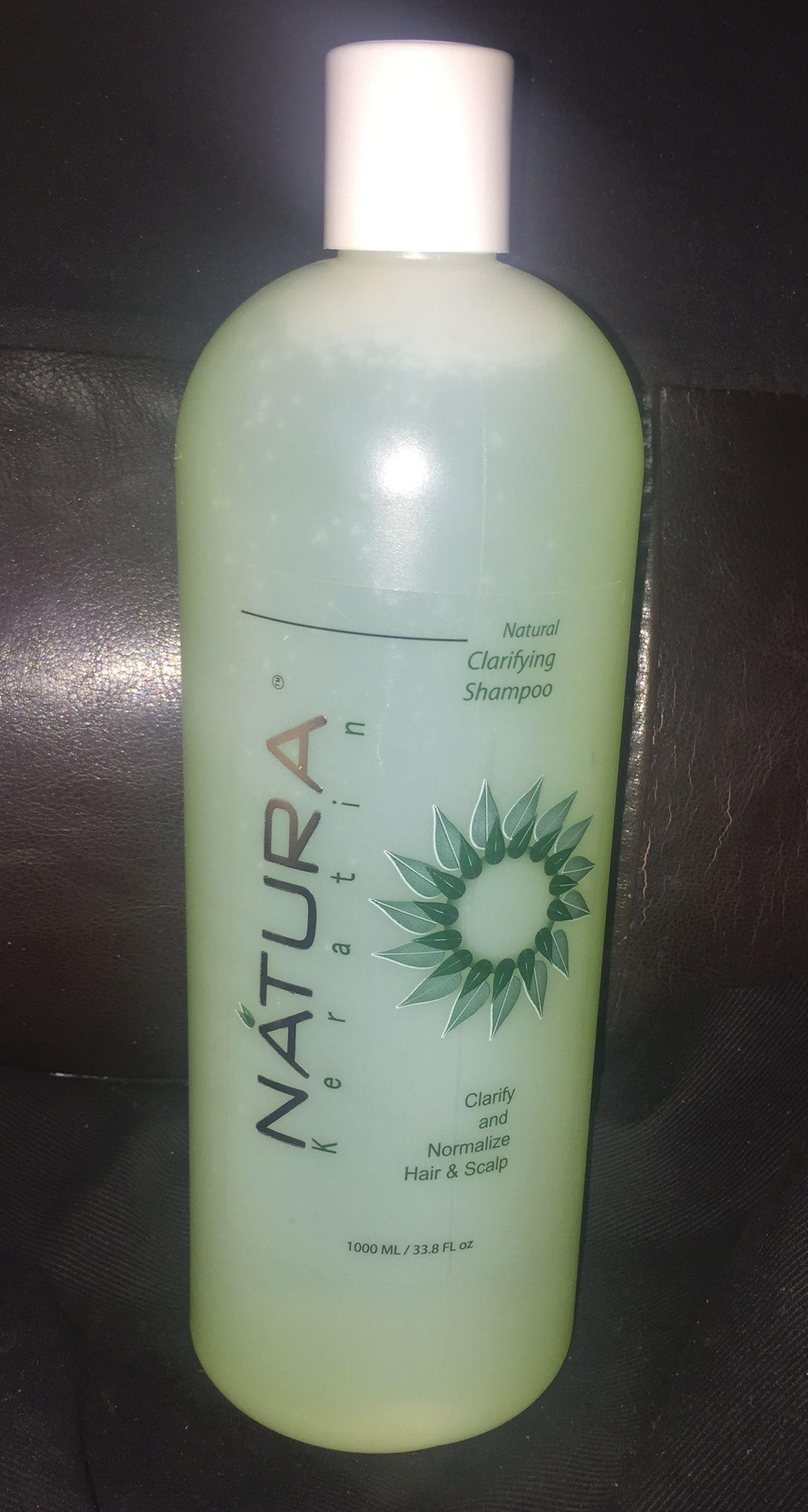 Natura Keratin Natural Clarifying Shampoo 33.8 oz