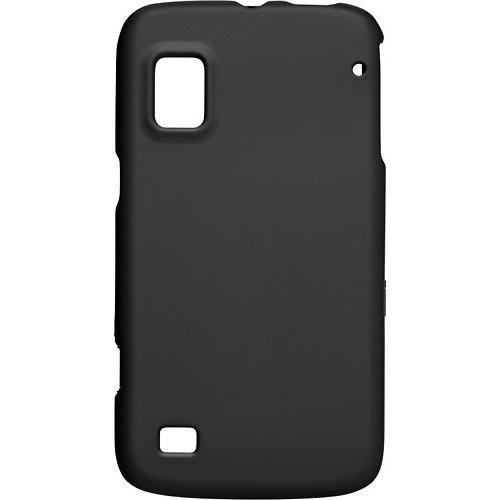 Rocketfish - ZTE Warp Boost Mobile Case Black Hard Shell Case
