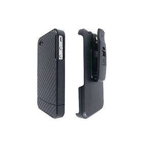AGF Black Vandelay Hard Shell Case w/ Holster for Apple iPhone 5/5s