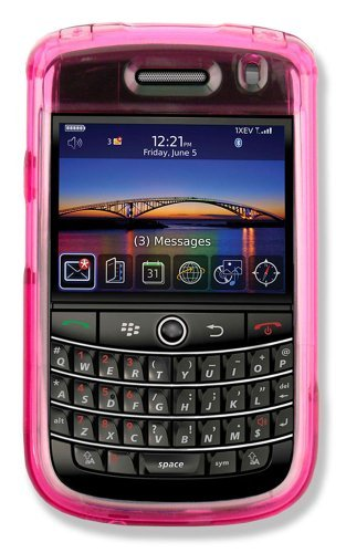 Qmadix Pack Snap-On Cover for Blackberry 9630 - Face Plate - Retail Packaging - Pink