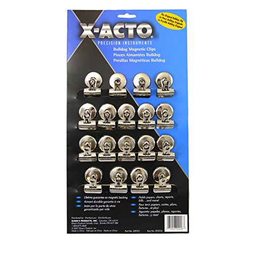 ELMERS X-Acto Bulldog Magnetic Clips (2026)